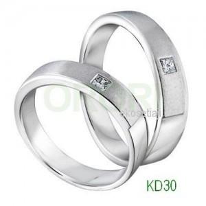 Cincin Couple Perak Simple KD30