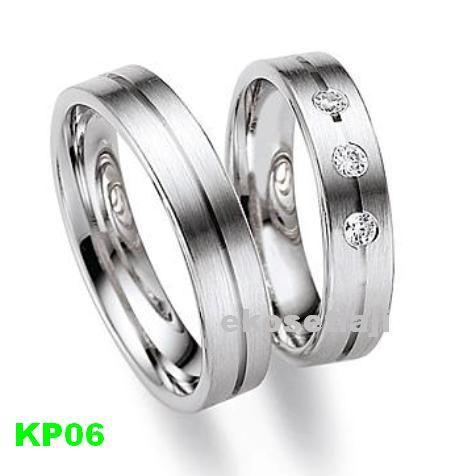 cincin kawin palladium KP06
