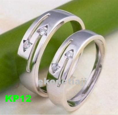 cincin nikah palladium KP12