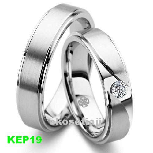 cincin kawin emas putih dan palladium kep19