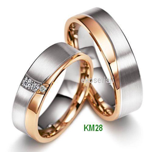 cincin kawin 2 warna