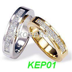 cincin kawin muslim palladium emas putih